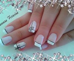 45 Awe-Inspiring French Manicure Ideas to Show Off the Most Stylish Nails Crazy Nails, Fancy Nails, Pretty Nails, Vacation Nails, Simple Acrylic Nails, French Tip Nails, Beautiful Nail Designs, Stylish Nails, Creative Nails