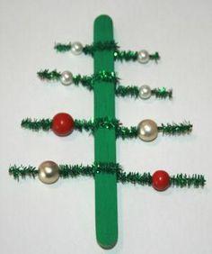 preschool christmas craft | Little Christmas Tree Decoration | Preschool crafts