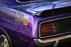 1970 Plymouth AAR Cuda Plum Crazy Purple