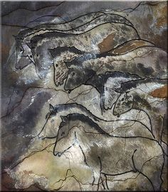The Lascaux paintings ... almost 18,000 years old.