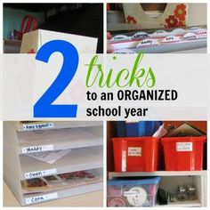 tricks to an organiz