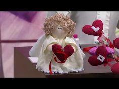 Anjo com coração para o dia dos namorados - Pt1