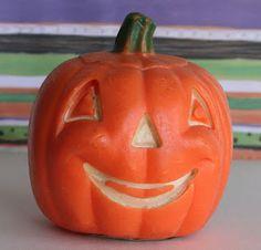 Vintage Halloween Gurley Candle ~ Jack O' Lantern