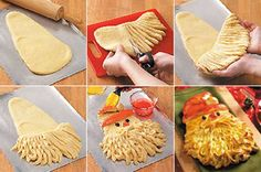 como hacer pan papa noel Pan de Papá Noel