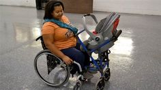 Sixteen-year-old Alden Kain designed a device that allows parents in wheelchairs to safely use a stroller.