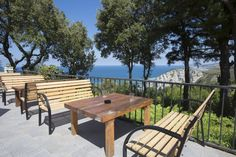 Terraza del Bar Restaurante - Vistas Outdoor Furniture Sets, Outdoor Decor, Bar, Home Decor, Swiming Pool, Terrace, Restaurants, Decoration Home, Room Decor