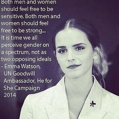 Home - He For She, Emma Watson at the 2014 He for She campaign