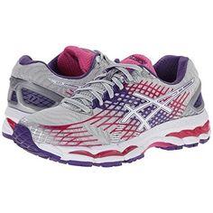 (アシックス) ASICS レディース シューズ・靴 スニーカー GEL-Nimbus 17 並行輸入品  新品【取り寄せ商品のため、お届けまでに2週間前後かかります。】 カラー:Lightning/White/Hot Pink 商品番号:ol-8765933-532112