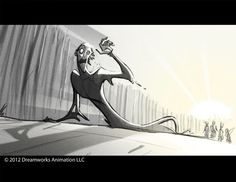 Rise of the Guardians (unused) storyboard