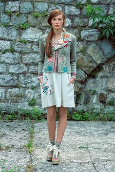 Ivko-Elaborately woven cotton clothing with retro/folk patterns, feminine cuts & beautiful colour schemes.