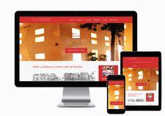 Création du site internet de l'hôtel La Pérouse à #Nantes http://www.air-media29.com/hotel-perouse-nantes.html