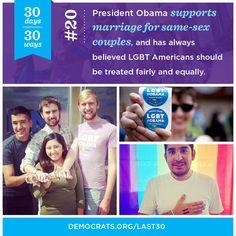 Vote for equality. Vote for Barack Obama.