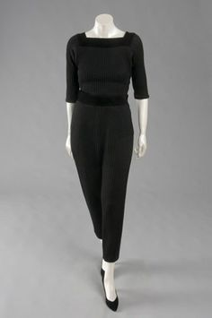Women's Ensemble (Sweater, Trousers) by Claire McCardell, 1945-58 (philamuseum.org)