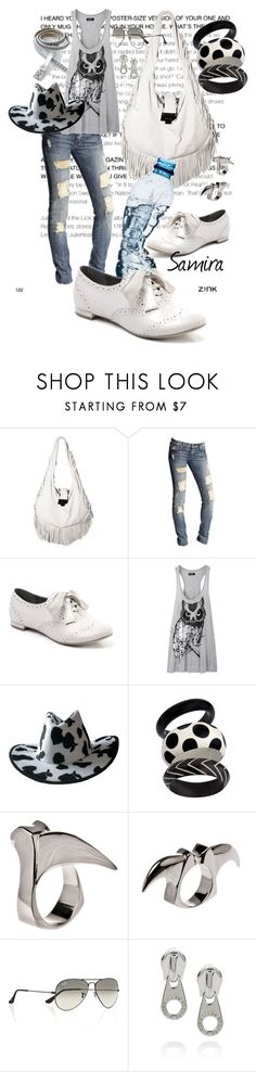 """""""happy new year 4 all-->>plz all read"""" by girlyskullsam ❤ liked on Polyvore featuring Jimmy Choo, 7 For All Mankind, Faith, LAUREN MOSHI, CO, Dominic Jones, Ray-Ban, Marc by Marc Jacobs and Calvin Klein"""
