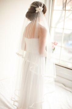 Velo de novia Juliet Cap velo de novia velo por MelindaRoseDesign