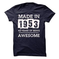 Details Product Awesome Made In 1953 Limited Edition Women Tee