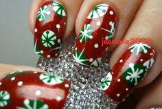 ❄️let it snoww❄️ | http://www.miascollection.com models  #christmas,  #winter  #nail art,  autumn