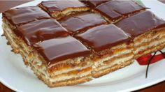 Oříškový dort s luxusním marmeládovým krémem a čokoládovou polevou – připravený už za 30 minut! – Milujeme recepty