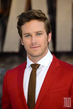 Armie Hammer in Gucci.  Damn, Hammer, this is the best you've ever looked.