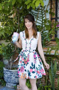 Antix vestido floral hibisco amo Antix dress cute
