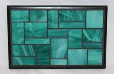 Teal glass mosaic trivet on Etsy, $25.00