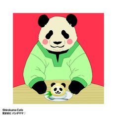 Shirokuma Cafe - 7th Ending Thme - Kimama ni Panda Mama