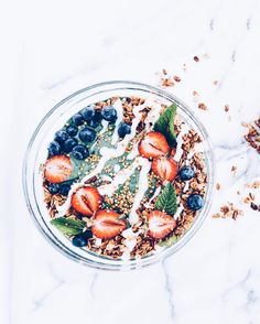 sorta like having FroYo for breakfast but with a healthy superfood twist