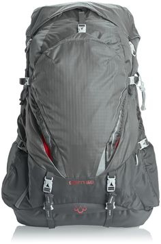 Gregory Mountain Products Cairn 58 Backpack, Magnetic Gray, Small. Women's specific fit and design. Wishbone Wire frame. Response LT formed auto-fit waistbelt with ventilated air channels. Harness features MonoBond Architecture with thermo-bonded, four layer construction. Contoured back panel with breathable spacer mesh and ventilated air channels.