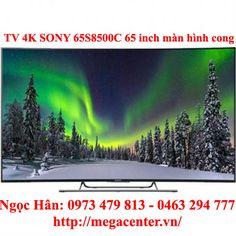 Tivi 4k led Sony KD-65S8500C 65 inch Smart tv màn hình cong