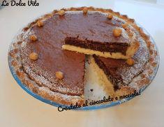 Crostata+al+cioccolato+e+nocciole! Biscotti, Allrecipes, Tiramisu, Sweets, Chocolate, Baking, Ethnic Recipes, Desserts, Food