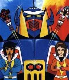Vintage Robots, Vintage Cartoon, Mecha Anime, Robot Cartoon, Japanese Superheroes, Good Anime Series, Super Robot, Old Cartoons, Silver Surfer