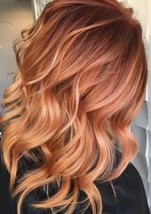 5 Reasons Why Blorange Hair Is the New Rose Gold Blorange hair co. - 5 Reasons Why Blorange Hair Is the New Rose Gold Blorange hair color that looks damn - Strawberry Blonde Hair Color, Magenta Hair, Gold Hair Colors, Honey Blonde Hair, Red To Blonde, Brunette Hair, Strawberry Blonde Hairstyles, Reddish Blonde Hair, Ginger Hair Color