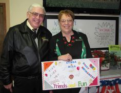 We were sad to see Bill and Linda retire, but happy for them. Our guests will miss them, too!