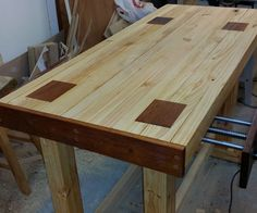 Ok, lets get this straight off the bat, I am cheap! I don't like spending money!(Although fairly basic compared to other projects on here, I'd really appreciate a vote or two in the contests if you liked this instructable! Thanks in advance!)For me to invest money in a project it needs to be something I consider worthwhile, and this workbench is exactly that. It cost me around $200 aud to build, and I fall in love with it more each time I use it.If you are interested in learning how t...