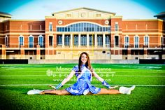 Gorgeous senior portrait, drill team