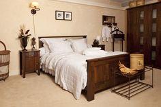 Landelijk Interieur Slaapkamer, slaapkamer azur
