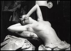 Alfons Mucha studie aktu 2