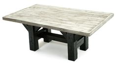 wood beem dining table | ... Painted Dining Tables Barnwood Dining Table Timber Frame Design #2
