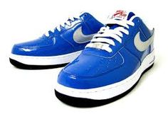 Image result for Nike Air Force 1 AF1 2010 NBA All Star Game Dallas Blue