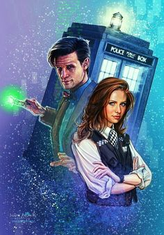 DOCTOR 11 AND AMY POND.