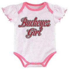 NCAA Ohio State Buckeyes Girls Unitard - 3-6 M, Multicolored