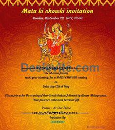 12 Best Golu Navratri Invitation Card For Whatsapp Images