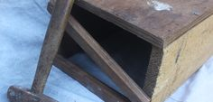 Hammer with wooden crate