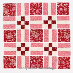 Introducing the April Block of the Month: The Album Quilt* quilt block is the April Fat Quarter Mystery Quilt Block. Like all blocks in this year's block of the month challenge, this block is...