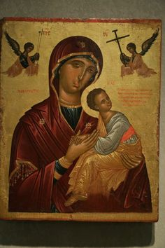 Byzantine Icons, Blessed Virgin Mary, Orthodox Icons, Religious Art, Jesus Christ, Medieval, Artwork, Painting, Freemasonry