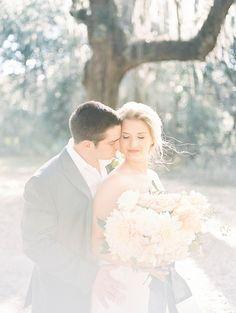 Serenity Blue Wormsloe Elopement - Coastal Bride