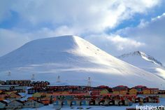 #longyearbyen - starting point of our freeriding expidition way up north on #svalbard