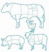 butcher meat cuts chart - templates -- from bing image search, just pinning to remind myself