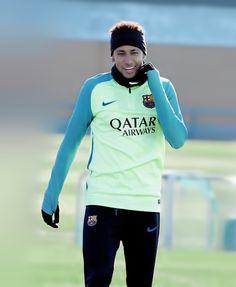 Neymar during FC Barcelona training session 18/01/2017