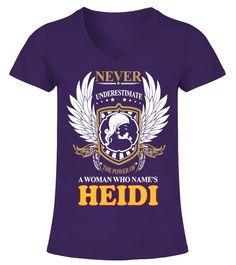 """# A Woman Who Names HEIDI .  Special Offer, not available in shopsComes in a variety of styles and coloursBuy yours now before it is too late!Secured payment via Visa / Mastercard / Amex / PayPal / iDealHow to place an order            Choose the model from the drop-down menu      Click on """"Buy it now""""      Choose the size and the quantity      Add your delivery address and bank details      And that's it!"""